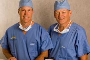 Dr. Gerald Clarke MD Dr. Stephen Dudley MD Eye Surgeons at OptiVision
